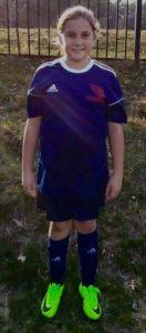 Addison Bunzel in uniform 2